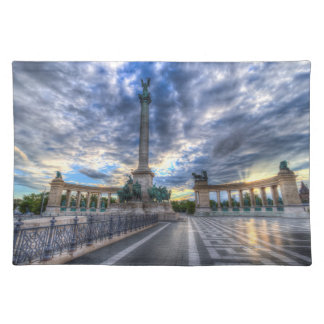 Heroes Square Budapest Hungary Placemat
