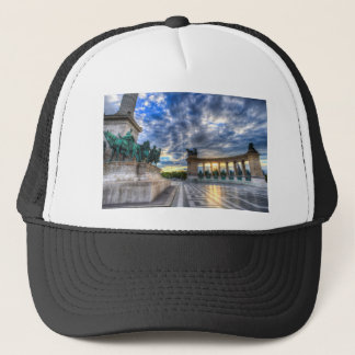Heroes Square Budapest Hungary Trucker Hat