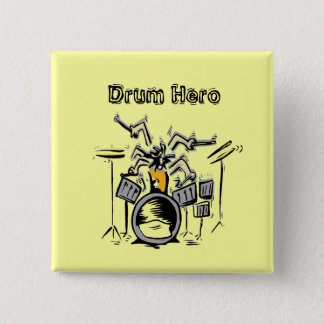 Heroic 2 Inch Square Button