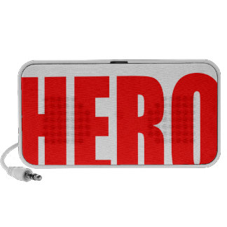 heroic superhero action admiration awesome emerges speaker system