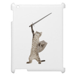 Heroic Warrior Knight Cat Cover For The iPad 2 3 4