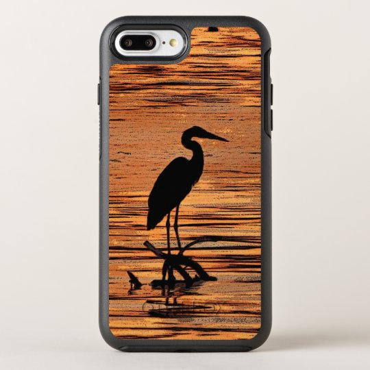 Heron Bird at Sunset OtterBox Symmetry iPhone 7 Plus Case