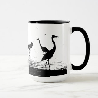 Heron Bird Wildlife Animals Wetlands Mug