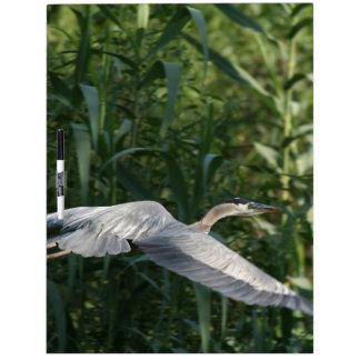 Heron Birds Wildlife Animals Dry-Erase Board