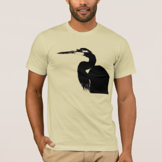 Heron Birds Wildlife Animals Wetlands T-Shirt