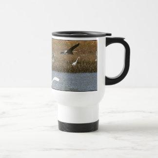 Heron Birds Wildlife Animals Wetlands Travel Mug