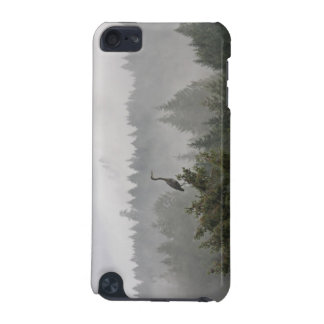 Heron in a Misty Mountain Landscape iPod Touch 5G Covers