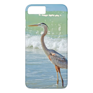 heron in ocean surf Case-Mate iPhone case