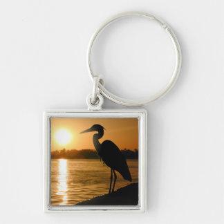 Heron Keychain