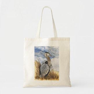 Heron on Assateague Island Tote Bag