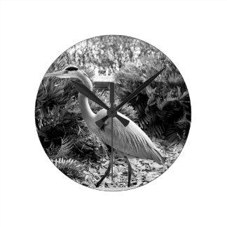 heron round clock