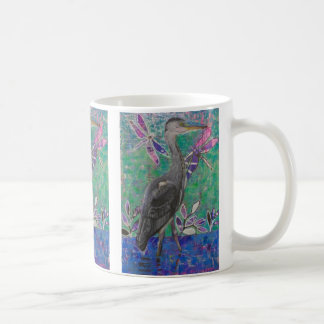 Heron Stands in the Dee Mug