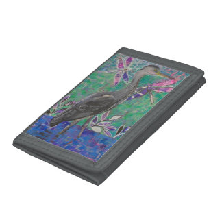 Heron Stands in the Dee Wallet