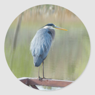 heron sticker