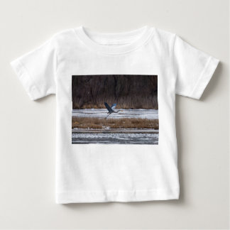 Heron Take Off Baby T-Shirt