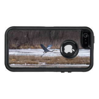 Heron Take Off OtterBox Defender iPhone Case