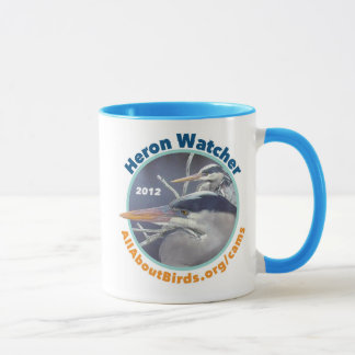 Heron Watcher Photo Mug
