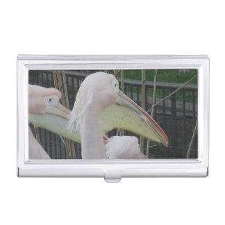 Herons Business Card Holder