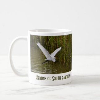 Herons of Charleston SC Coffee Mug