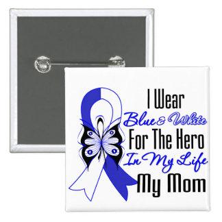Héros de ruban de SAL dans ma vie ma maman Badge