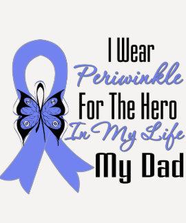 Héros oesophagien de ruban de Cancer mon papa T Shirt
