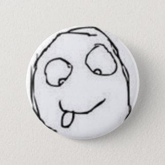 Herp Derp Rage Comic 2 Inch Round Button