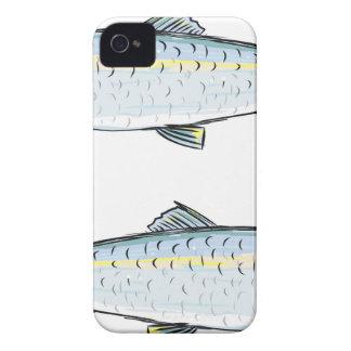Herring Fish Sketch iPhone 4 Case