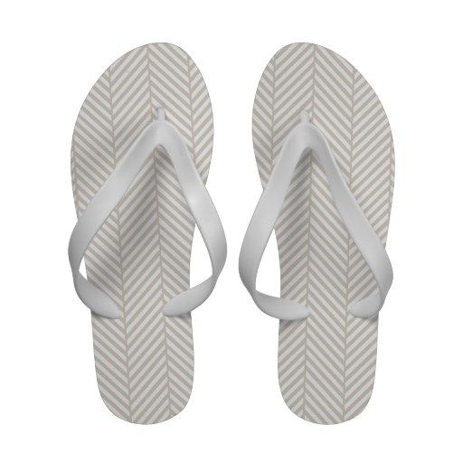 Herringbone Flip-Flops