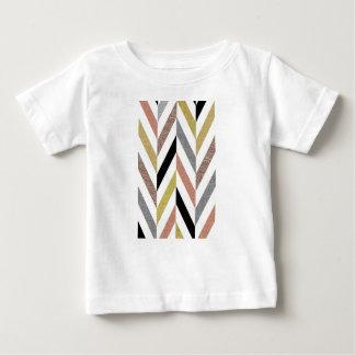 Herringbone Pattern Baby T-Shirt