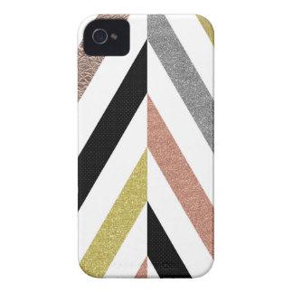Herringbone Pattern Case-Mate iPhone 4 Cases