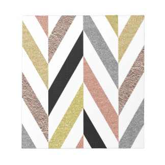 Herringbone Pattern Notepad