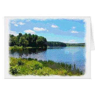 """""""Herrington Lake"""" Card"""