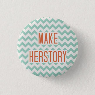 Herstory 1 Inch Round Button
