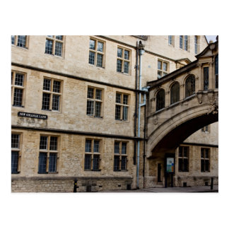 Hertford Bridge (aka Bridge of Sighs), Oxford Postcard