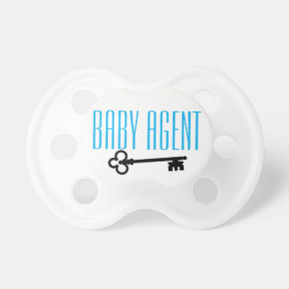 He's a baby. He's an agent. Or nah Pacifier