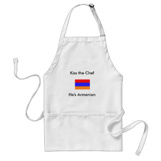 He's Armenian, Kiss the Chef Standard Apron