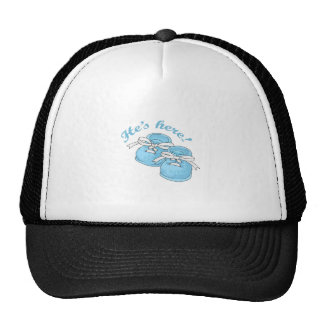 HES HERE MESH HAT