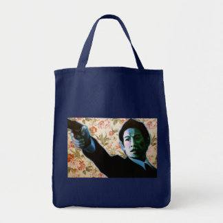 """He's in Your Living Room"" by Axel Bottenberg Tote Bag"