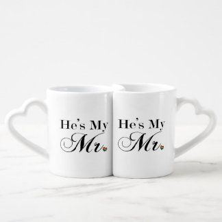He's My Mr. Coffee Mug Set