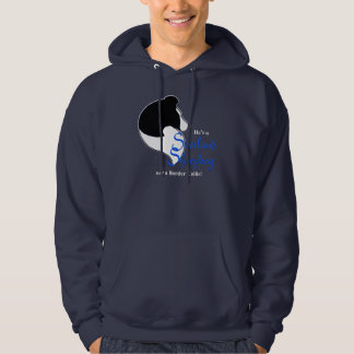 He's Not a Border Collie Hoodie