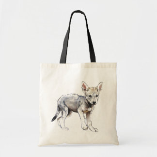 Hesitating Arabian Wolf Pup 2009
