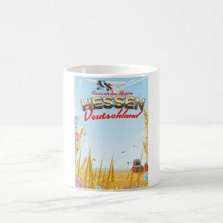 Hessen Deutschland Reiseplakat Magic Mug