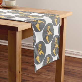 Hest Creative - Grey Short Table Runner