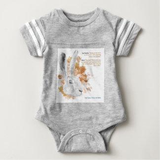 Hester, Hare Daemon from His Dark Materials Baby Bodysuit