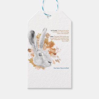 Hester, Hare Daemon from His Dark Materials Gift Tags