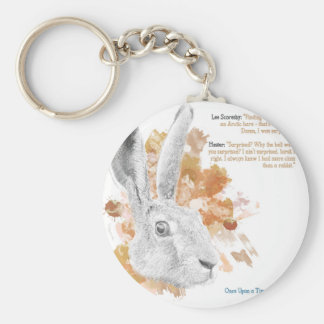 Hester, Hare Daemon from His Dark Materials Keychain