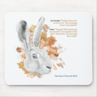 Hester, Hare Daemon from His Dark Materials Mouse Pad