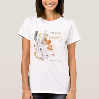 Hester, Hare Daemon from His Dark Materials T-Shirt