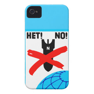 Het No! No war peace anti-war propaganda poster 4S iPhone 4 Covers