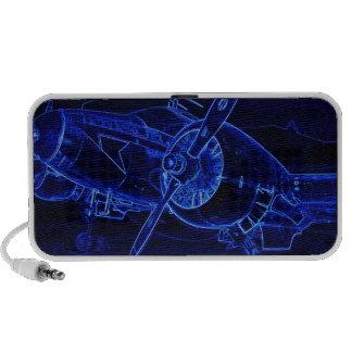 Hêtre bleu haut-parleurs pour iPhone